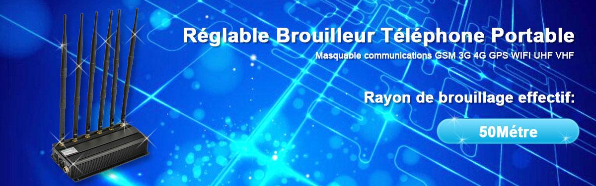 Brouilleur 2G 3G 4G GPS