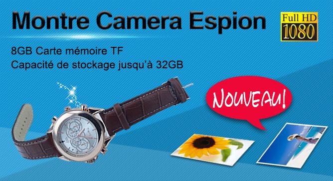 HD Montre Caméra Espion prix