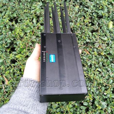 multifonctionnel brouilleur de signal de t l phone portable de brouilleur wifi uhf vhf de signal. Black Bedroom Furniture Sets. Home Design Ideas