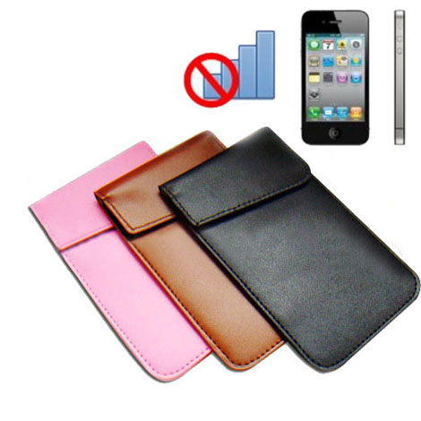 sacoche de brouilleur gsm t l phone mobile signal anti rayonnement pouch. Black Bedroom Furniture Sets. Home Design Ideas